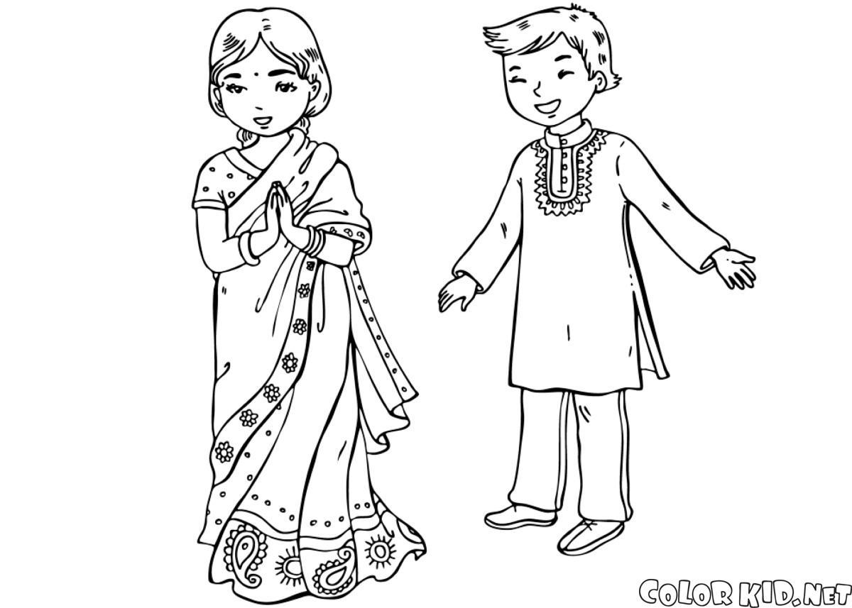 Enfants indiens