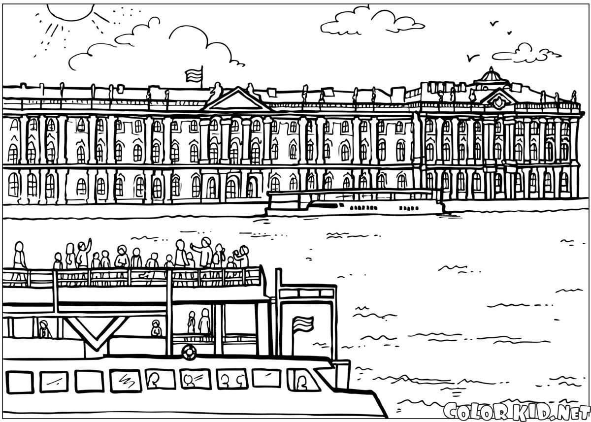 Palais dHiver à Saint-Pétersbourg