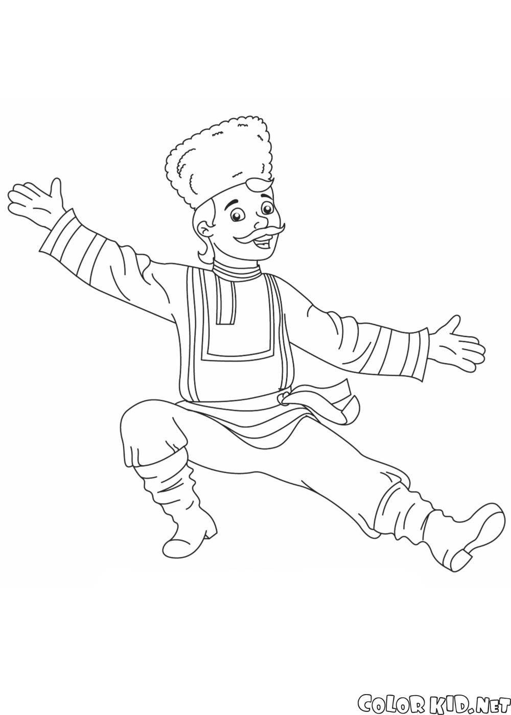Danseuse russe