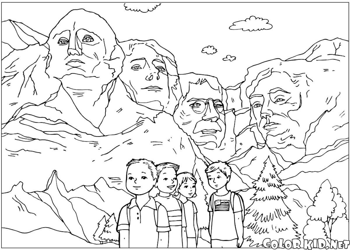 Les sculptures de Mount Rushmore