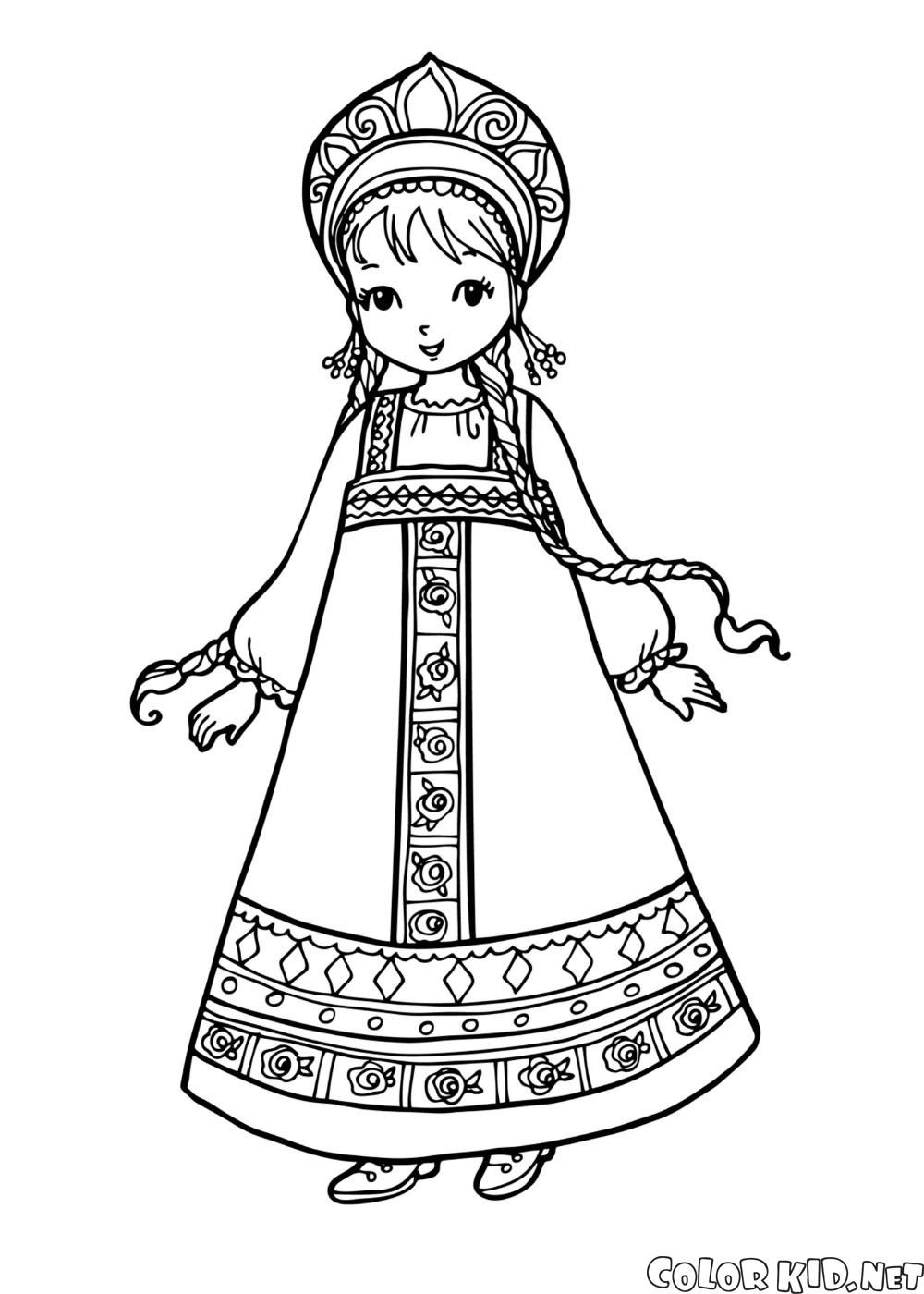 russian folk art coloring pages - photo#34