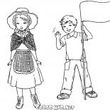 Enfants anglais