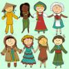 Enfants en costume traditionnel